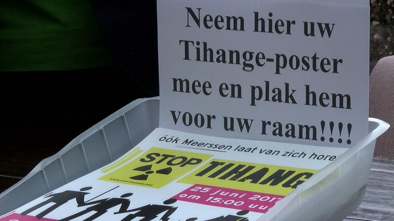 Gemeente stelt 1500 euro beschikking voor ketting Tihange
