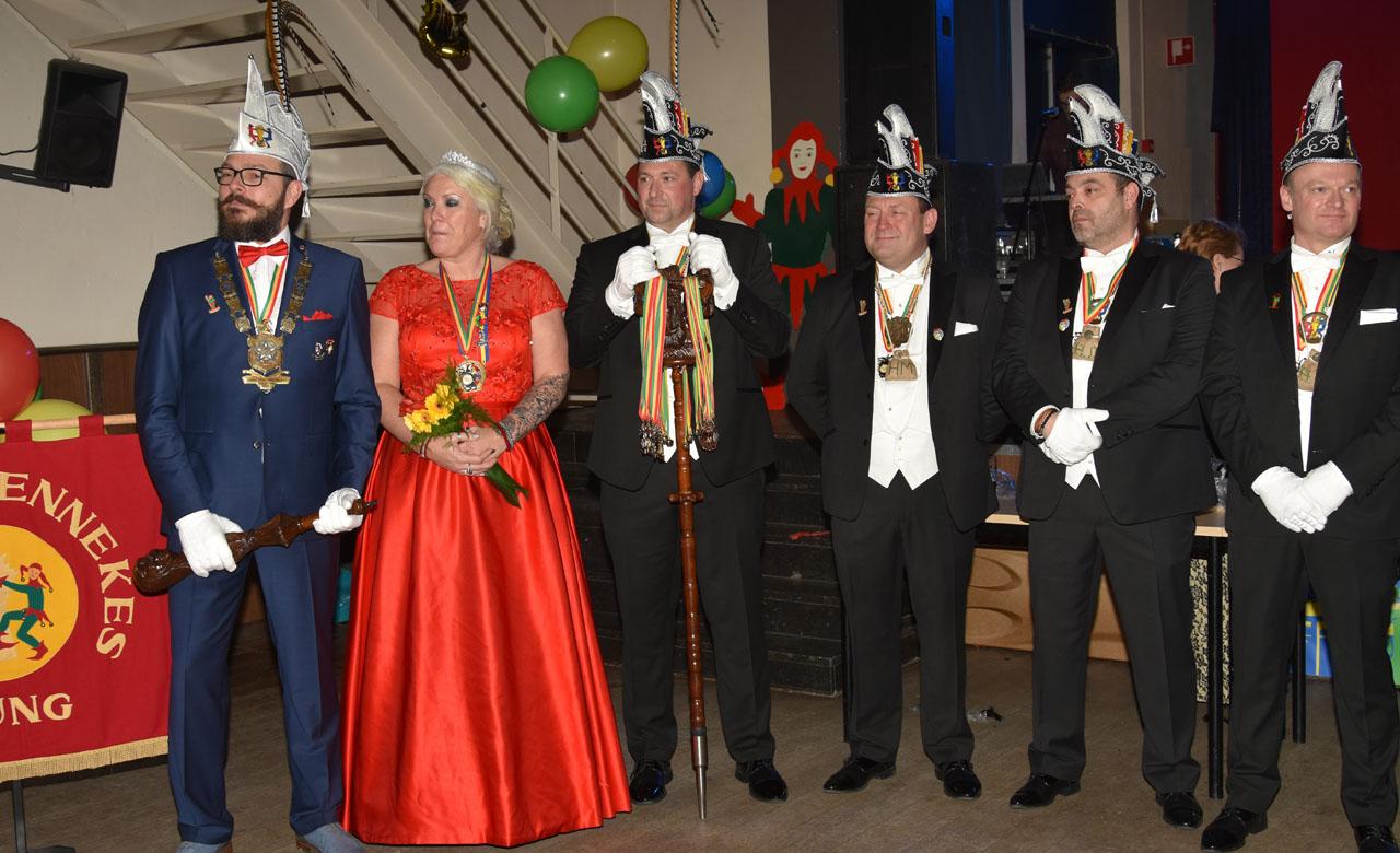 Velen kwamen Prinsenpaar Havermennekes feliciteren