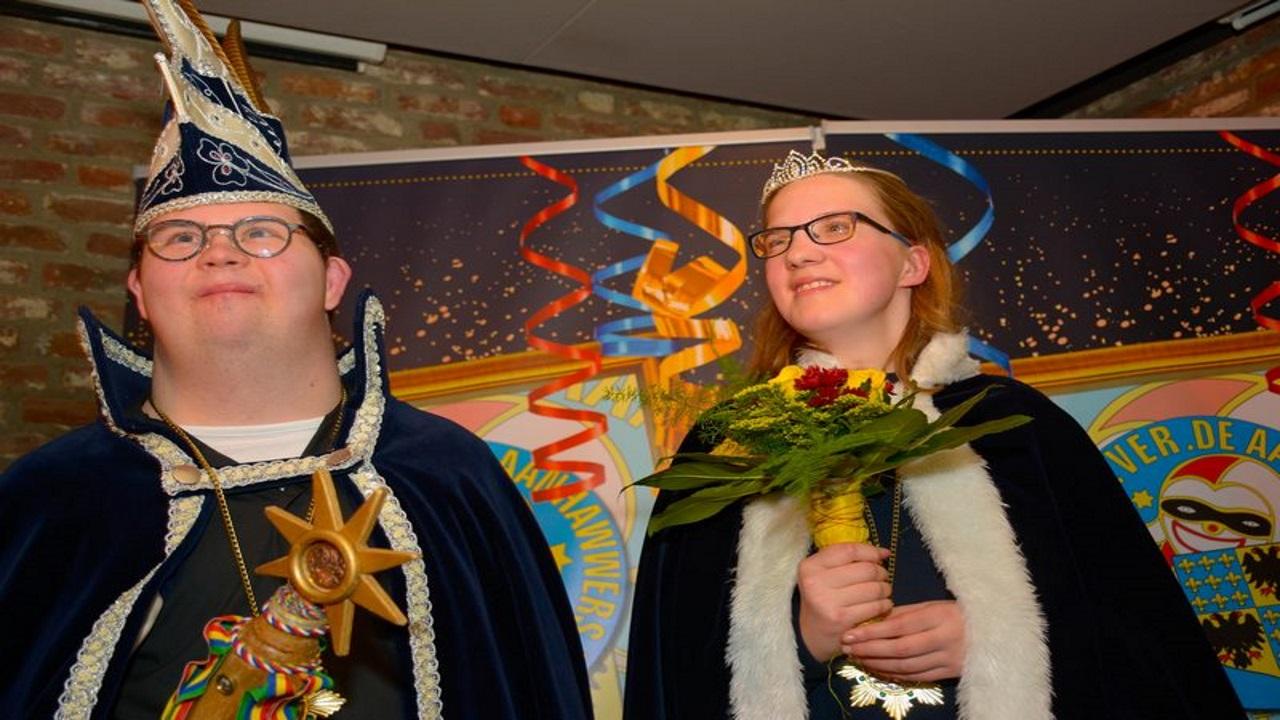 Prins Paul 1 en Prinses Fenne regeren over Ut Zunneke
