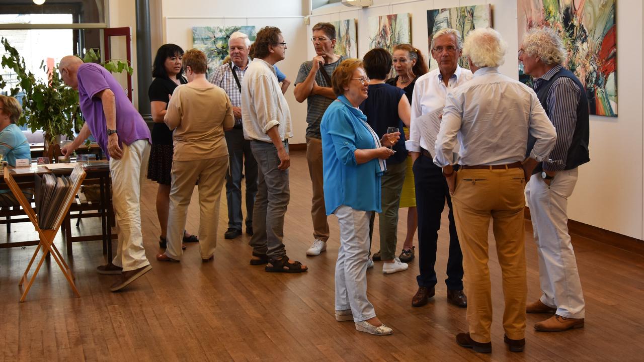 Kunstenaarsgroep 4-D exposeerden in het Terpkerkje