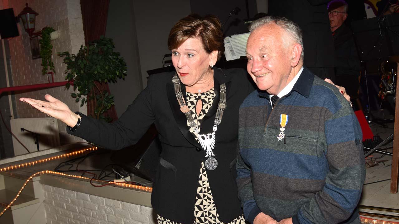 Koninklijke onderscheiding Leo Janssen