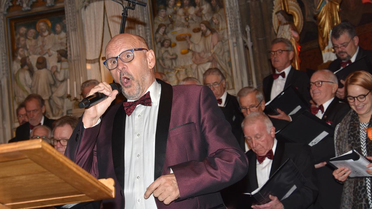 Franciscus concert voor de Ruggesteun gehouden