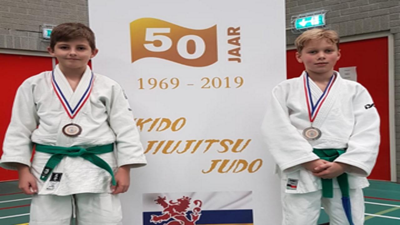 Successen judoclub Bunde in Roermond en Geleen