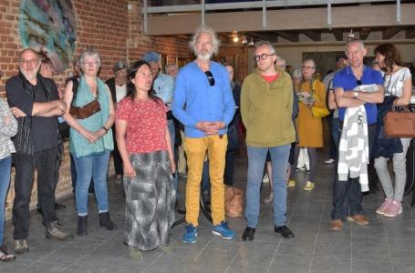 Opening Land-Art expositie bij landgoed Vliek