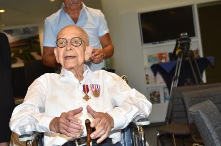 Onderscheiding voor 99-jarige Bundenaar