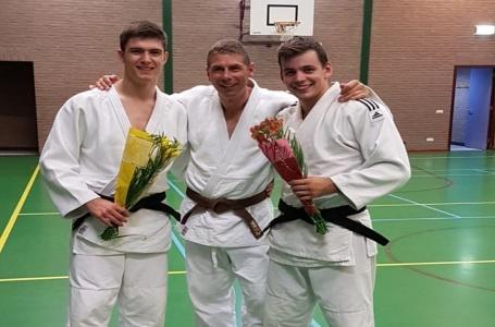 Drie judoka's geslaagd voor judoleider