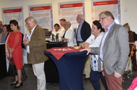 Opening expositie 'Oorlog, bezetting en bevrijding'