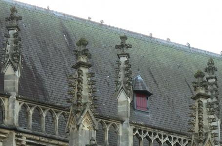Herstelwerkzaamheden stormschade Basiliek stilgelegd