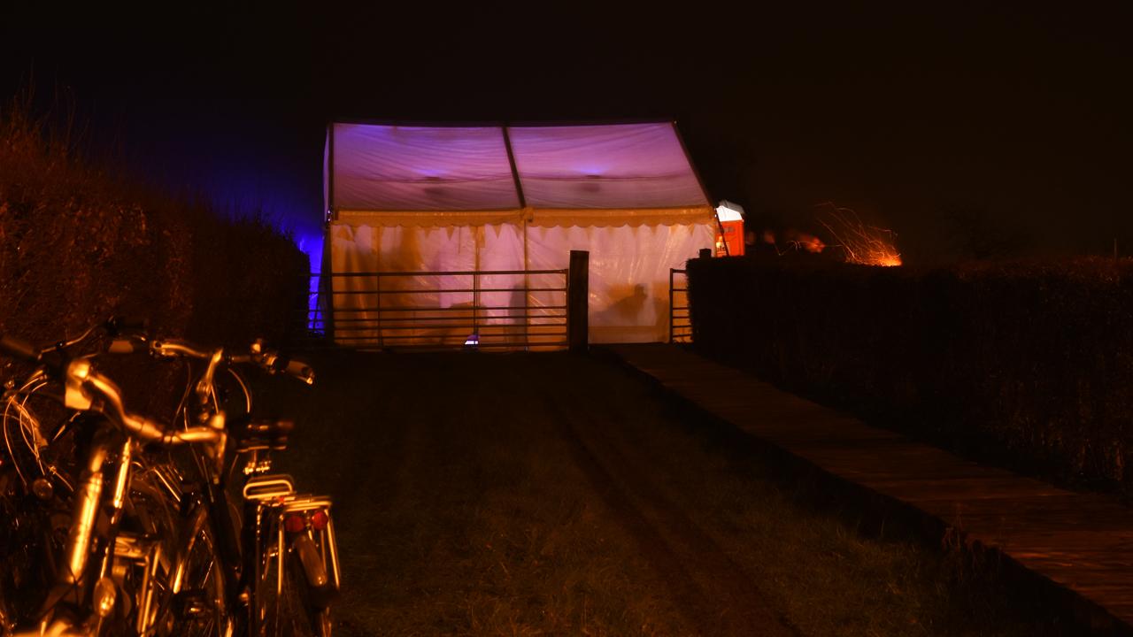 Tent op Raar