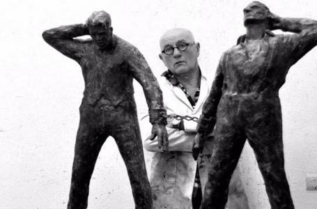 Wil van der Laan over zijn kunstwerk van Sjeng en Joep