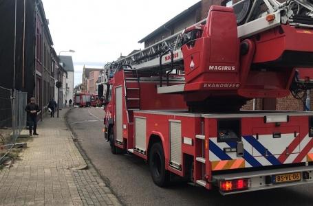 Schade aan huis door storm in Volderstraat
