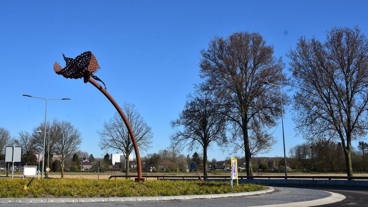 Kunstwerk rotonde Beatrixhaven