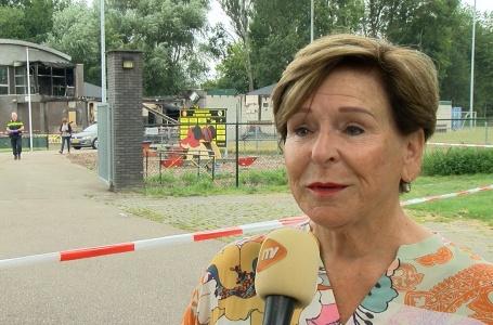 Burgemeester Clermonts over brand bij SV Meerssen