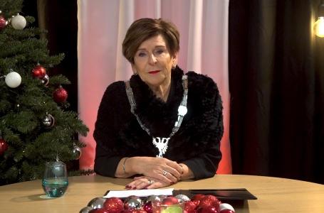 """Burgemeester Clermonts tijdens nieuwjaarstoespraak: """"Vaccinaties brengen ons terug in de normale wereld"""""""