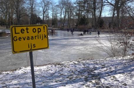 Het winterse weer zorgt voor        schaatskoorts