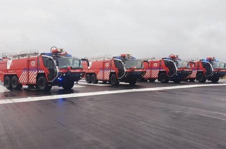 Vierde crashtender MAA vervangt 30 jaar oud reservevoertuig