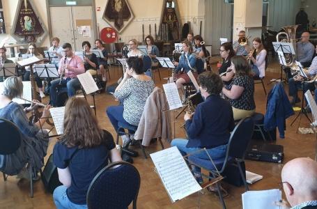 Eerste repetitie Harmonie St. Caecilia Geulle