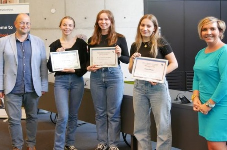 Team Stella Maris College wint de BIZZ competition