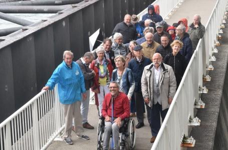 Gedupeerden wateroverlast op tour naar Neeltje Jans