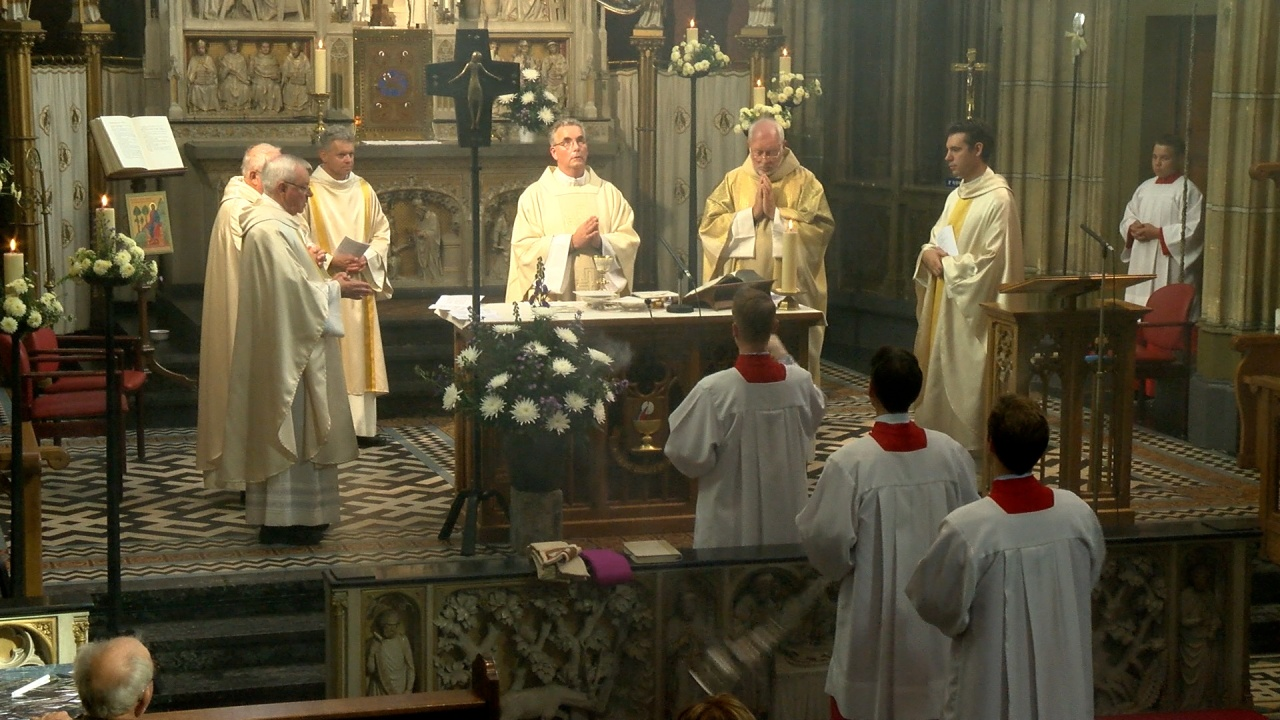 Theo van Galen geinstalleerd als pastoor van Meerssen