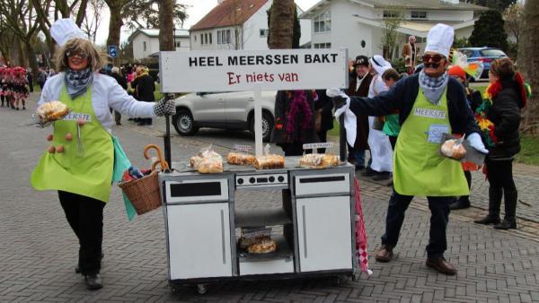 Carnavalsoptocht Meerssen 27 februari 013